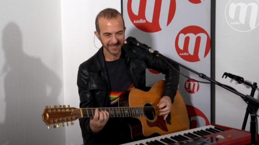 Calogéro en live des studios de M Radio