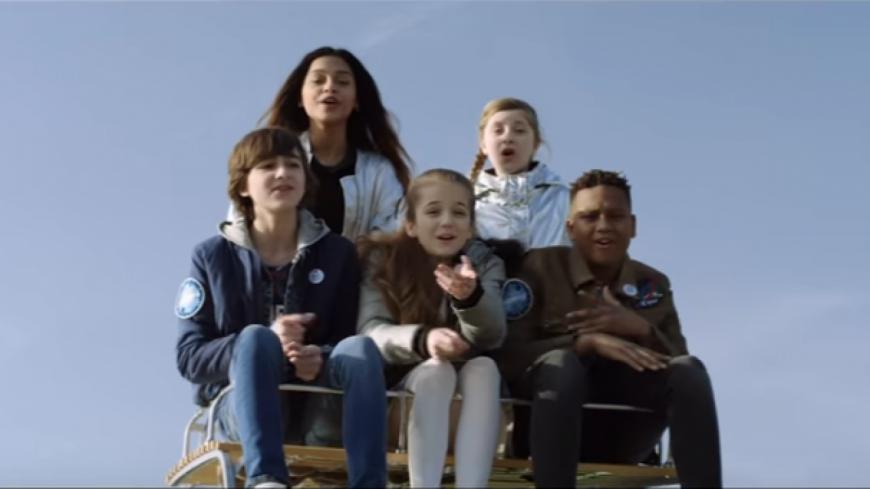 « Chante » le nouveau clip des Kids United.